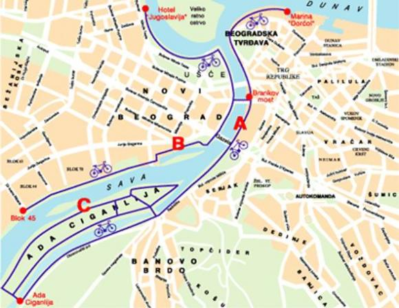 Biciklisticke Staze Beograd Bg Info Org